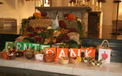 6. Oktober, Familiengottesdienst zum Erntedankfest