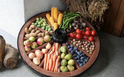 6. Oktober, Erntedankmesse in der Scheune
